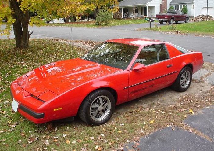 Pontiac Firebird Trans Am 1982-1992
