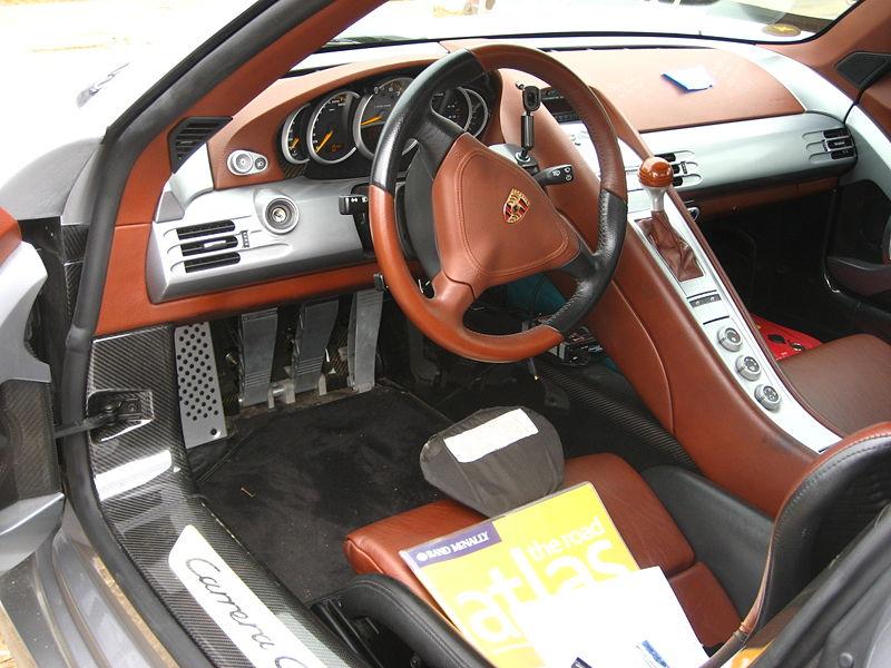 Porsche Carrera Gt Interior. Porsche Carrera GT 2004-2006