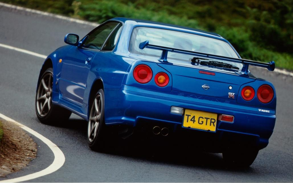 1998 Nissan Skyline GT Automatic R34 related infomation