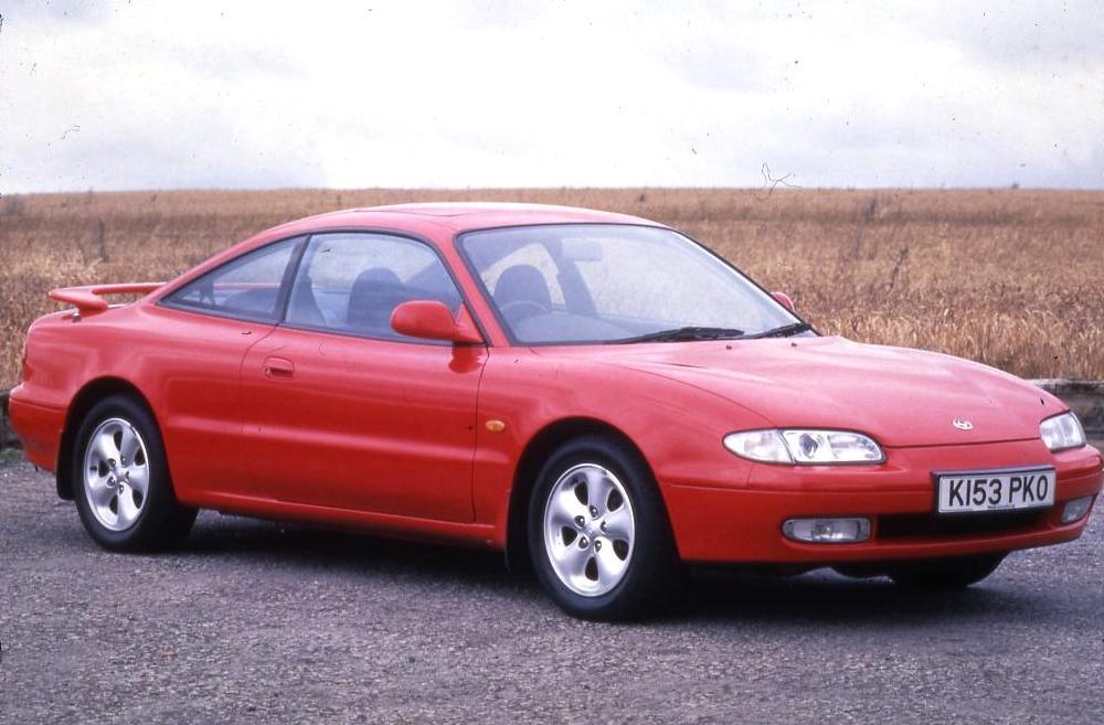 L Red Mazda Mx