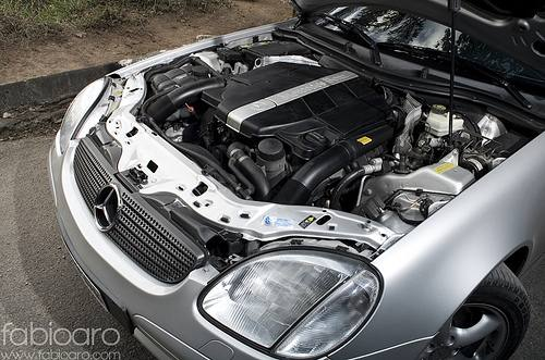 L Slk on Mercedes V6 Engine