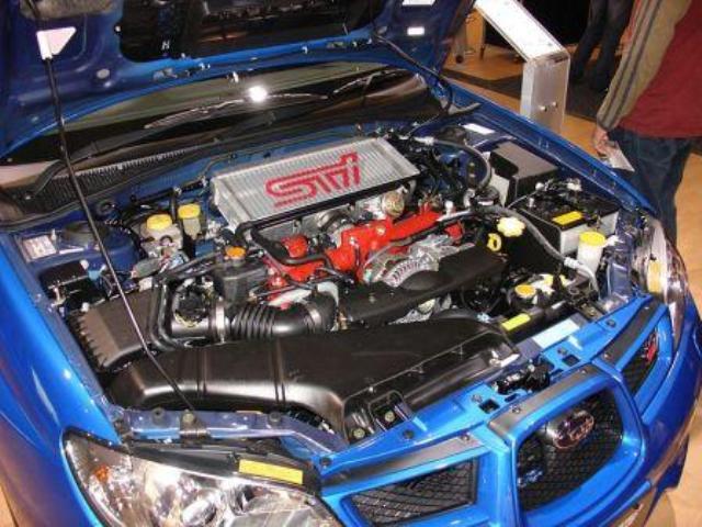 2003 subaru impreza wrx sti engine