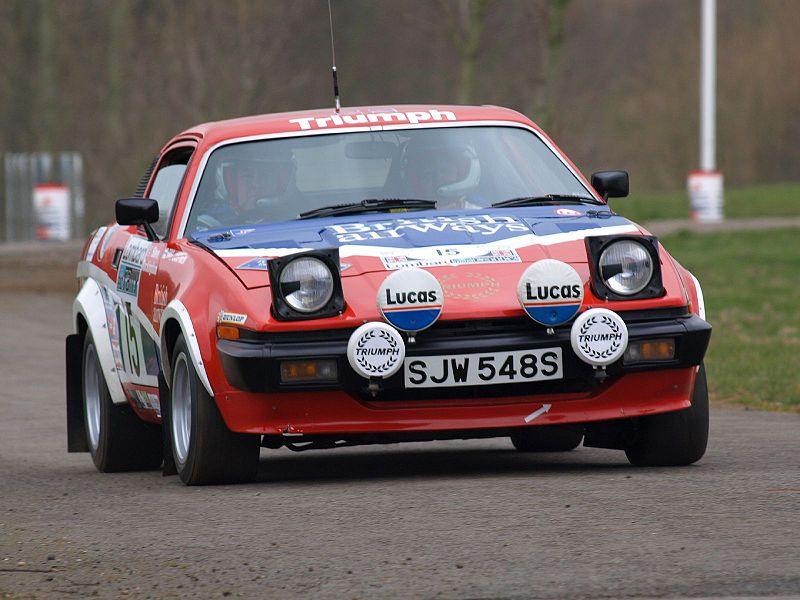 L-Triumph-TR7-Race-Car.jpg (800×600)   くるま   Pinterest   Rally ...