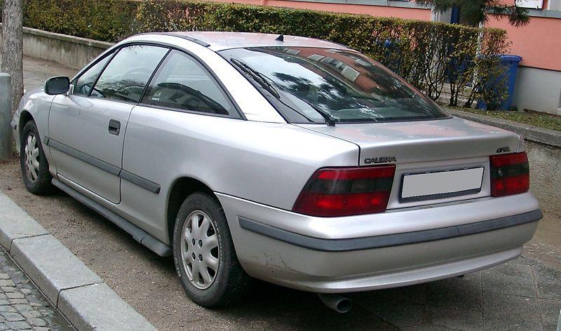 Vauxhall calibra 1990 1998