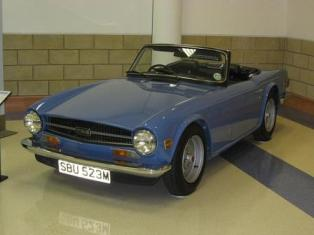 TR6 Heritage Motor Centre