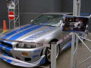 2 Fast 2 Furious Nissan Skyline