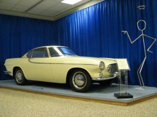 The Saint Volvo P1800 Prototype