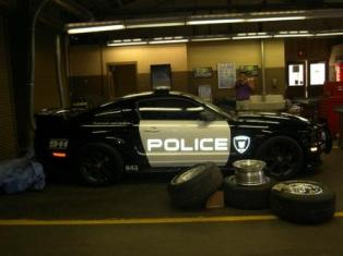 Transformers Police Mustang