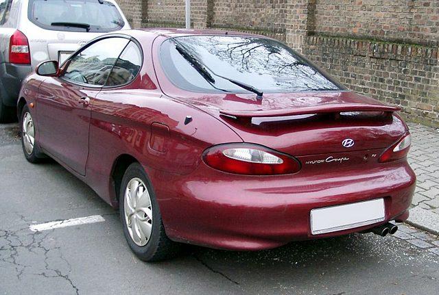 Hyundai Coupe 1996 2008