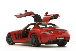 BRABUS WIDESTAR Mercedes SLS (2)