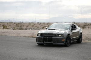 Shelby Mustang GT350 2013 Gray 2