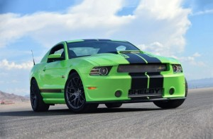 Shelby Mustang GT350 2013 Green