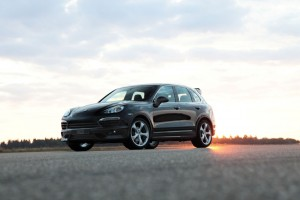 TECHART Aerodynamic Kit I for the Porsche Cayenne (1)