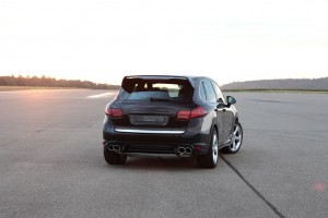 TECHART Aerodynamic Kit I for the Porsche Cayenne (2)