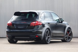 GEMBALLA sports exhaust system with sound valve control for Porsche Cayenne (2)