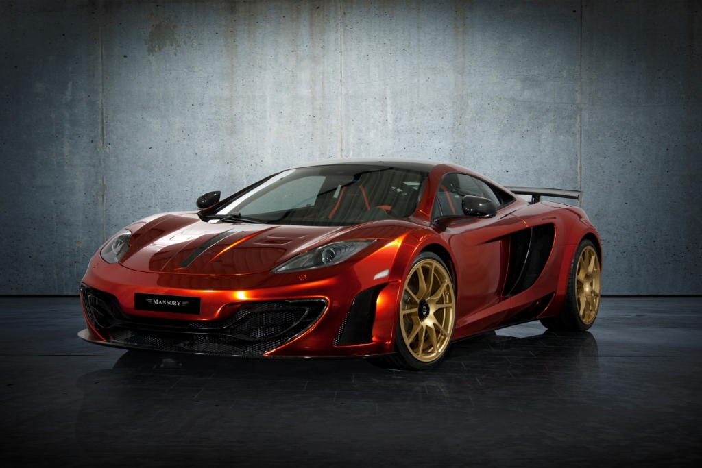 MANSORY customises the McLaren MP4-12C to create a work of art