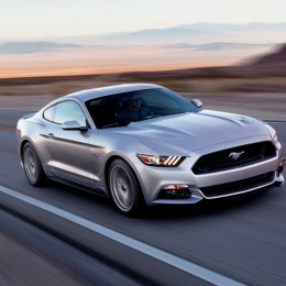 2015 Ford Mustang GT Front Side