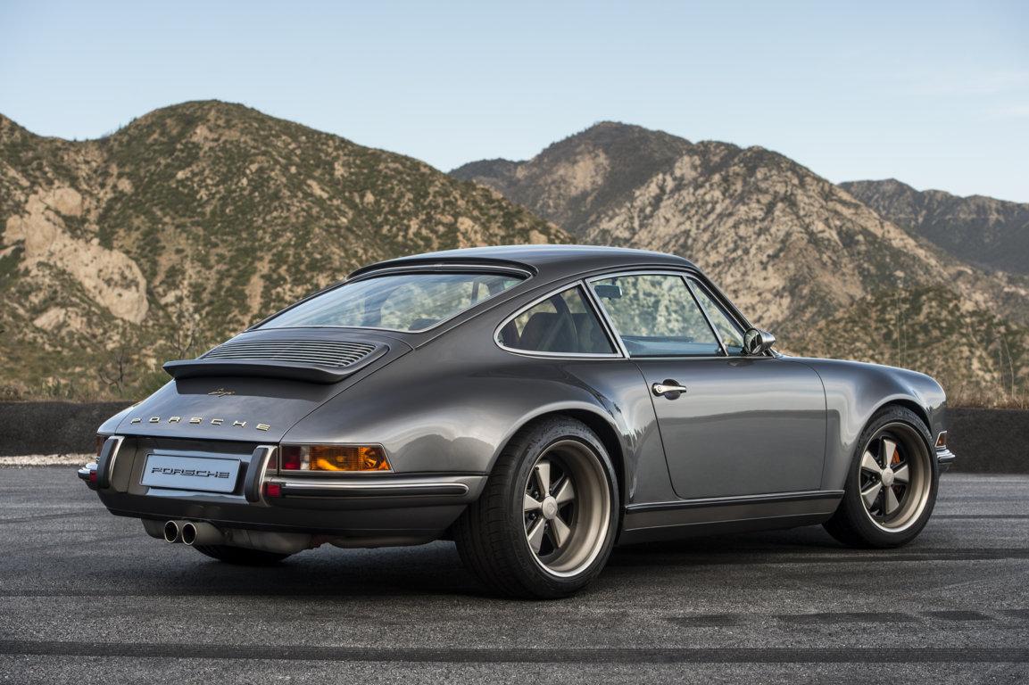 Monterey's Beauty Complements The Reimagination Of Singer Vehicle Design