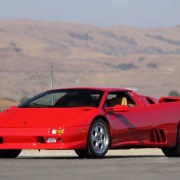 1997 Lamborghini Diablo VT Roadster (Lot S119)