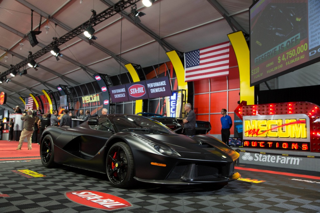 $50 Million At Mecum's 2016 Daytime Auction In Monterey