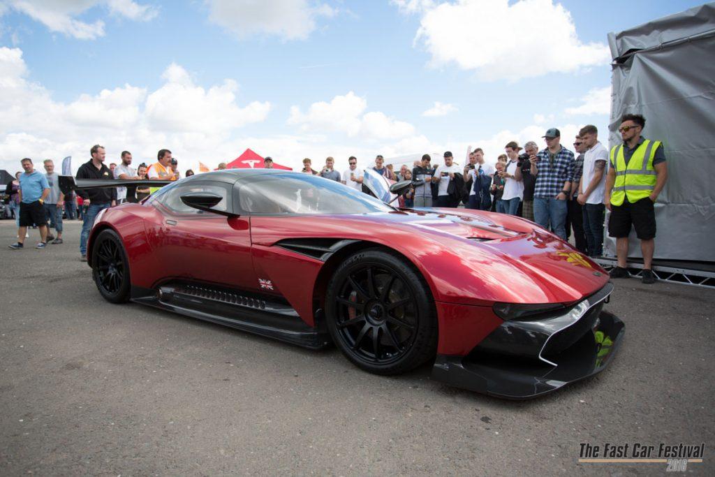 Aston Martin Vulcan Wows Crowds At Fast Car Festival 2016