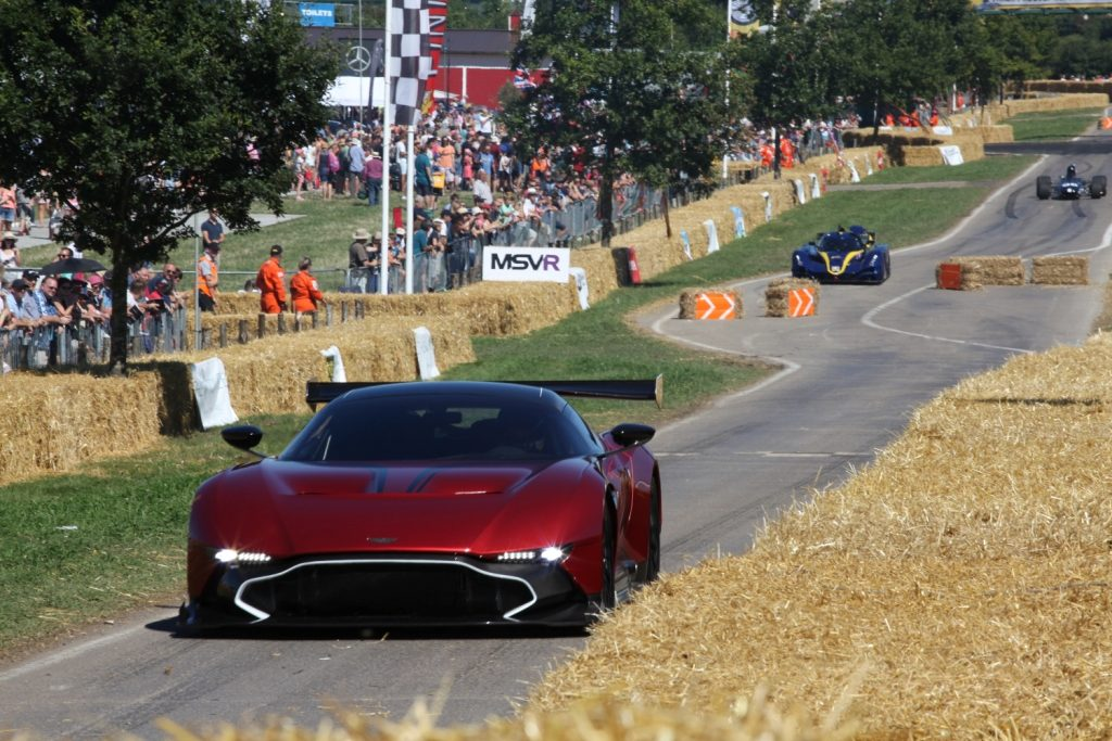 Aston Martin Vulcan at CarFest South