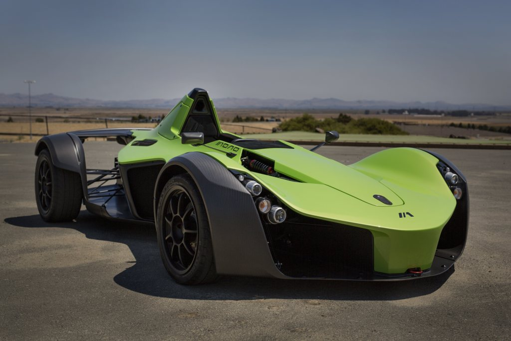BAC Mono Returns To Pebble Beach In 2016