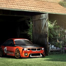 BMW 2002 Hommage Celebrates The Birth Of The Turbocharged Car