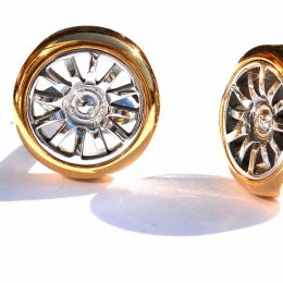 Bugatti Veyron wheel cufflinks