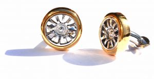 Wear The Bugatti Veyron On Your Sleeve With A Set Of TMB Art Metal Wheel Cufflinks