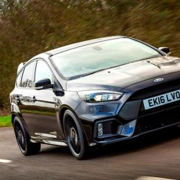 Ford Focus RS achieves improved 0-62 mph acceleration in 4.5 seconds