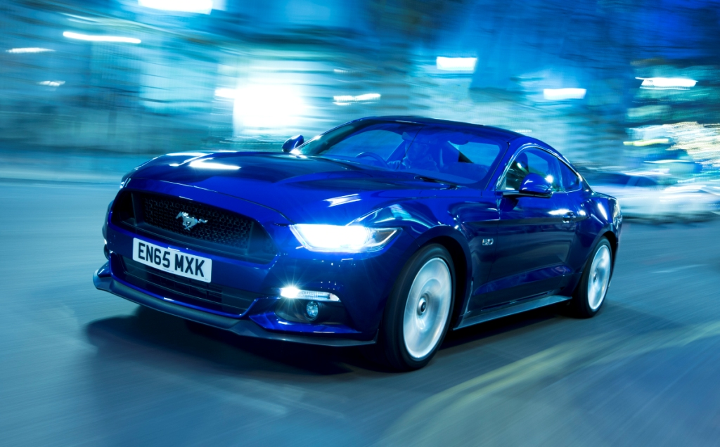 Mustang Leads UK High Performance Car Sales