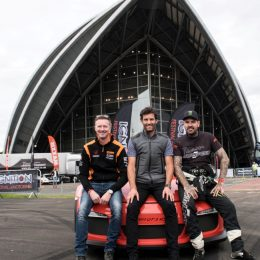 Gordon Shedden, Mark Webber and Shane Lynch at IGNITION