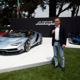Lamborghini Unveils Centenario Roadster In California