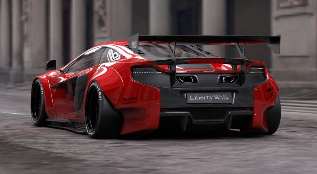 Liberty Walk Announces Brand New Body Kit Range For McLaren 650S