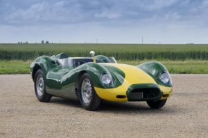 Lister Knobbly Stirling Moss Edition At The Pebble Beach Concours d'elegance