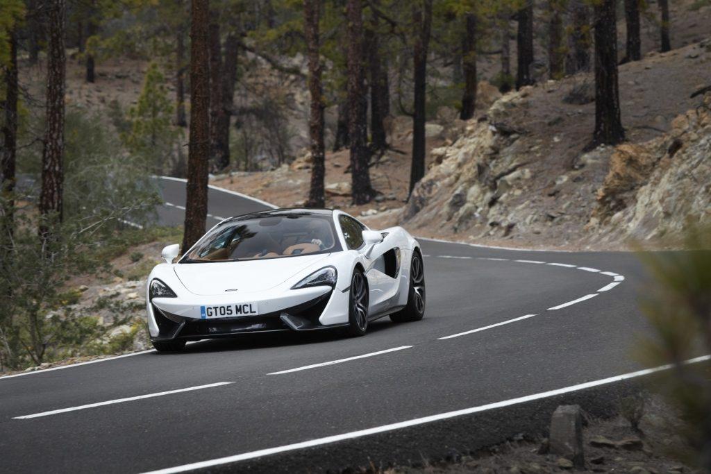 McLaren 570GT road car