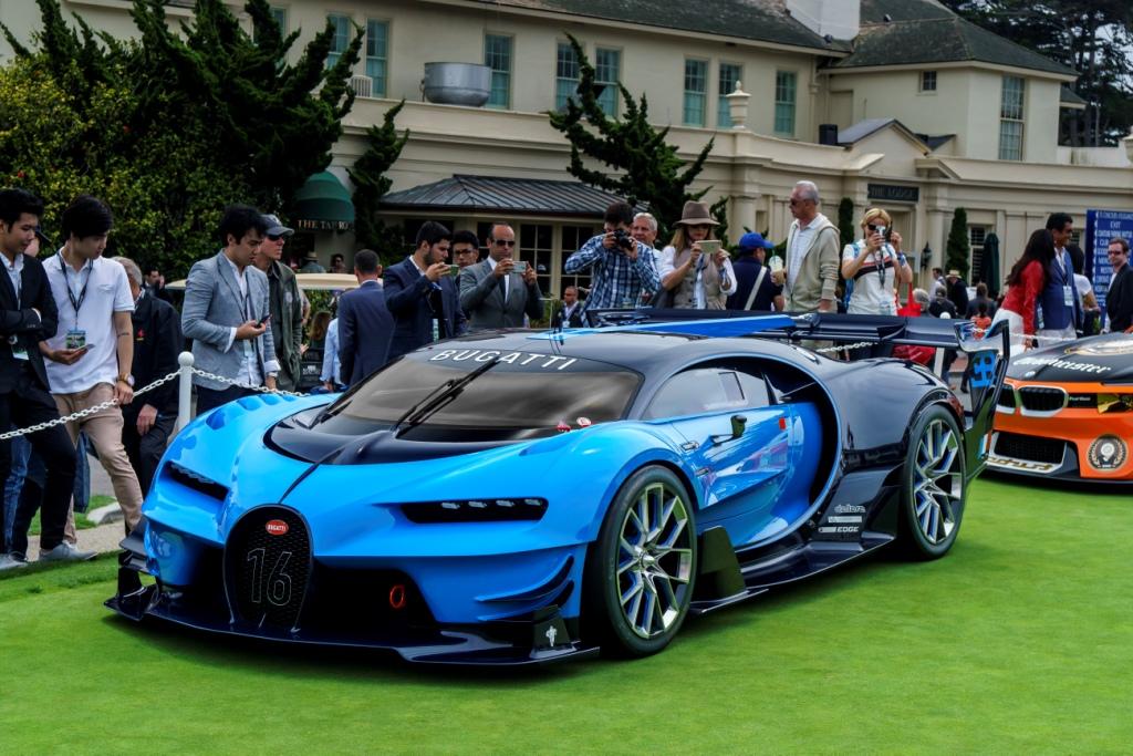 US Premiere For The Bugatti Vision Gran Turismo