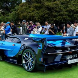 US Premiere For The Bugatti Vision Gran Turismo