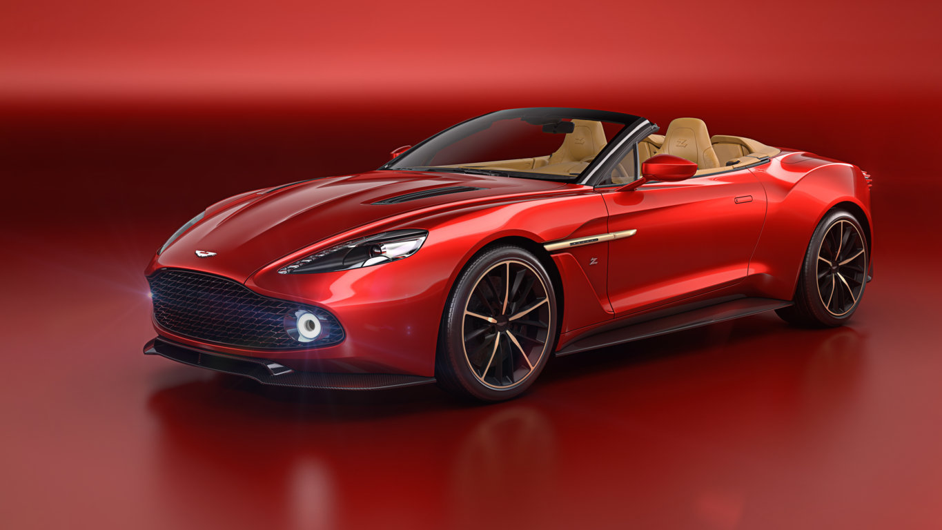 Aston Martin Announces Vanquish Zagato Volante At Pebble Beach