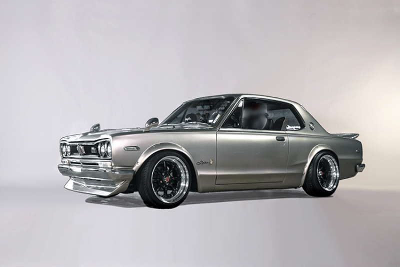 "1971 Nissan Skyline ""Hakosuka""  GT-R (tribute vehicle)"