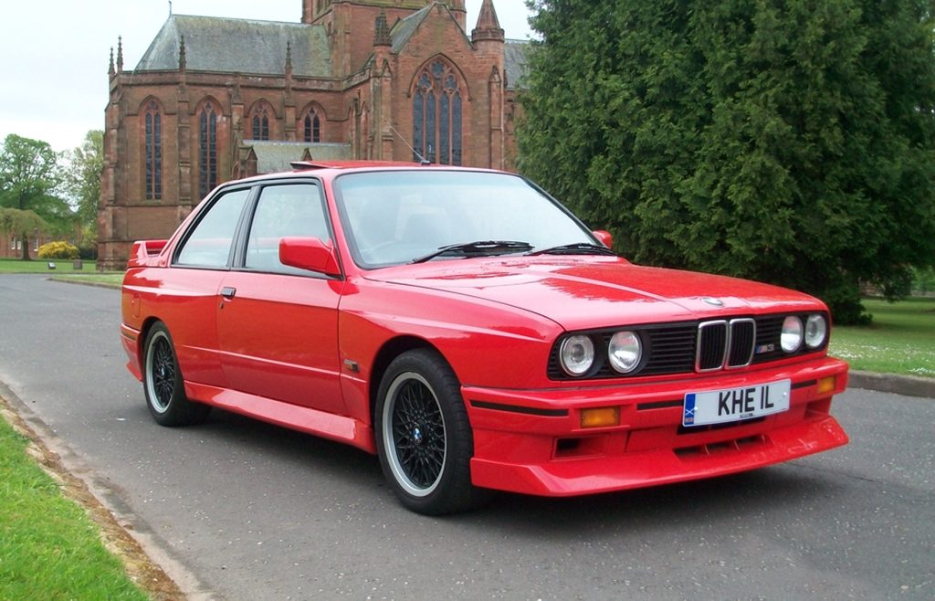 1988 BMW E30 M3 Evolution II
