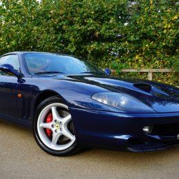 A 1998 Ferrari 550 Maranello