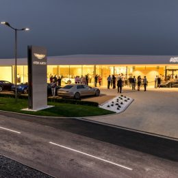 Aston Martin And Dick Lovett Launches In Bristol