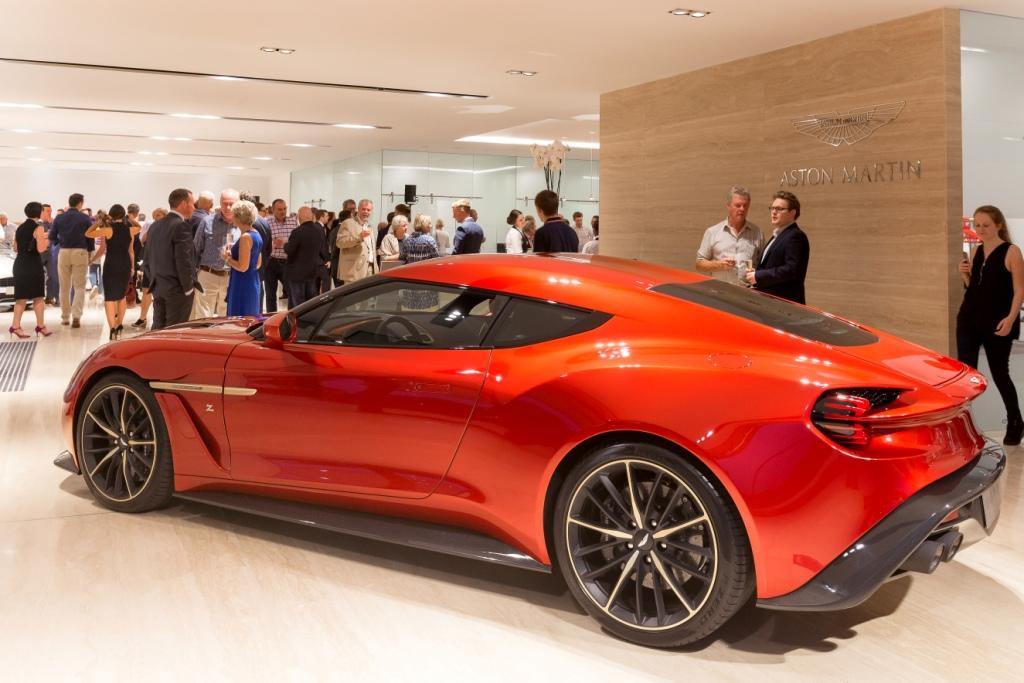 Aston Martin And Dick Lovett Launches In Bristol