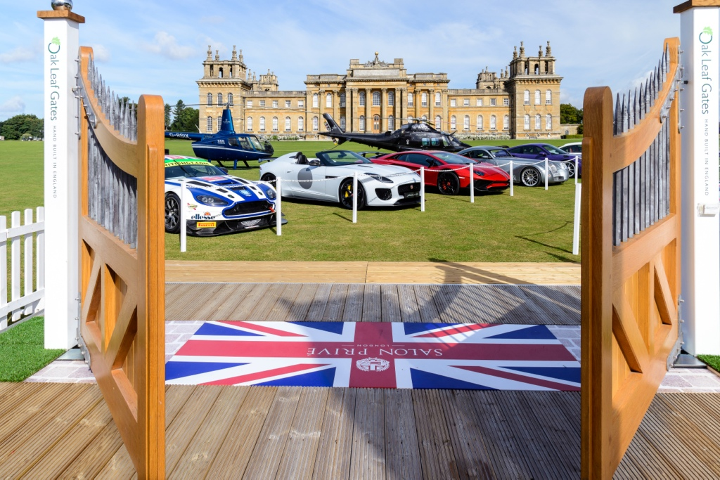 Blenheim Palace, Salon Privé entrance 2016