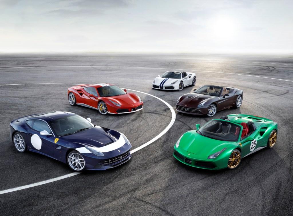 Ferrari Announces 70th Anniversary Celebrations At The Paris Motor Show