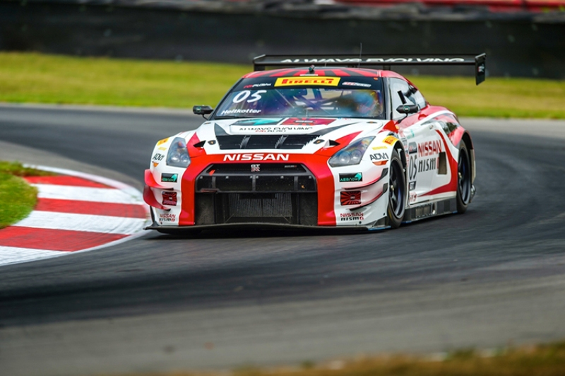 GT Academy winner Heitkotter shows pace at Mid-Ohio Pirelli Worl