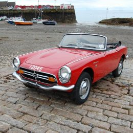 Honda UK Starts S800 Restoration Project
