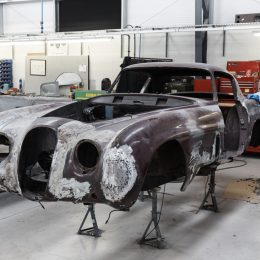 Jaguar XK by Pininfarina - in the workshop